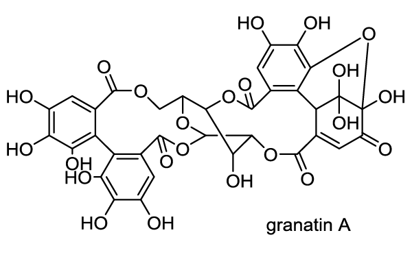 ミソハギ 化学構造式1