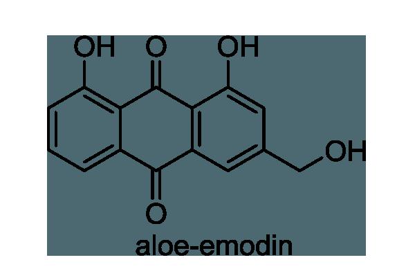 アレクサンドリアセンナ 化学構造式1