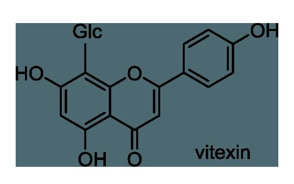 イロハモミジ 化学構造式1