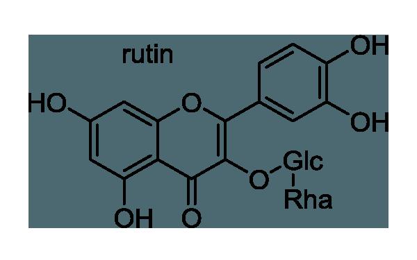 エンジュ 化学構造式1