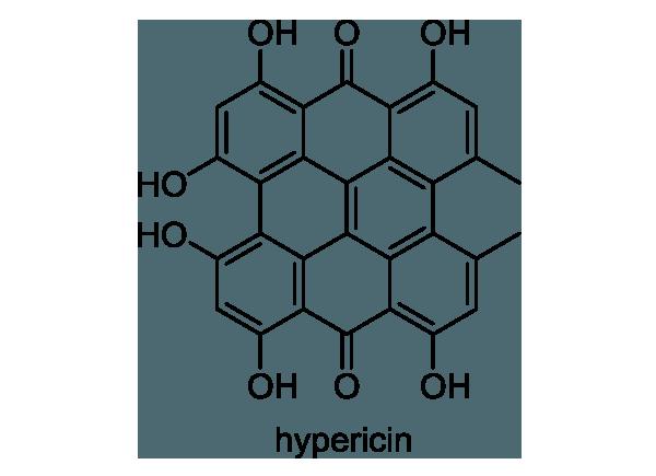 オトギリソウ 化学構造式1
