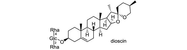 キクバドコロ 化学構造式1