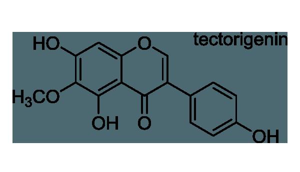 シャガ 化学構造式1