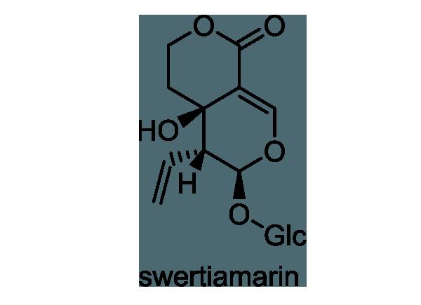 センブリ 化学構造式1