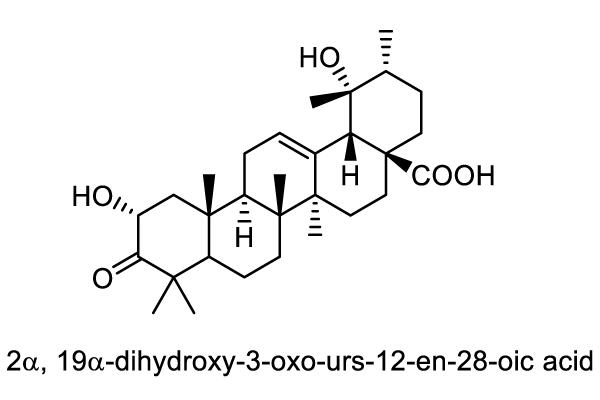 ダイコンソウ 化学構造式1