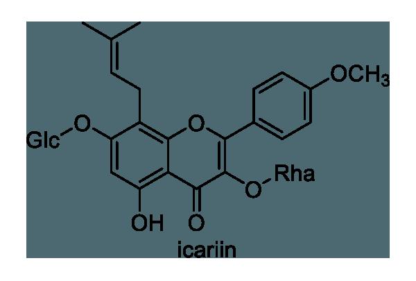 トキワイカリソウ 化学構造式1