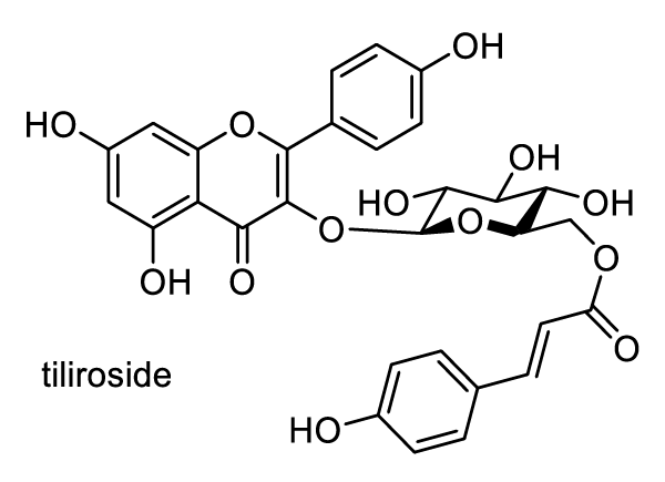 ナニワイバラ 化学構造式1