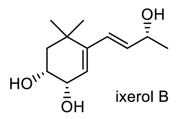 ハマクサギ 化学構造式1