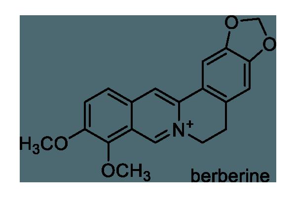 ヒイラギナンテン 化学構造式1