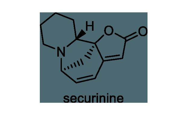 ヒトツバハギ 化学構造式1