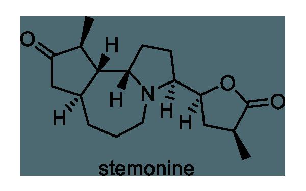 ビャクブ 化学構造式1