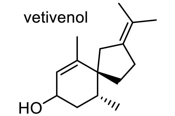ベチバー 化学構造式1