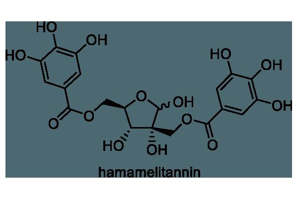 マンサク 化学構造式1
