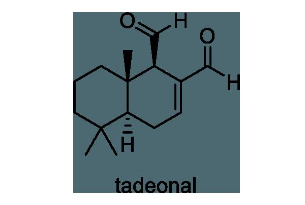 ヤナギタデ 化学構造式1