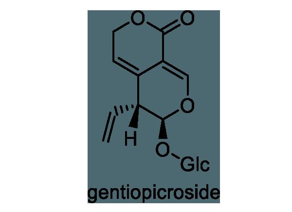 リンドウ 化学構造式1