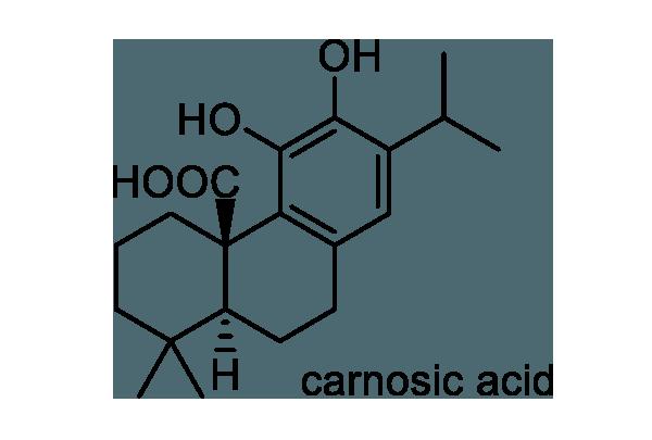 ローズマリー 化学構造式1