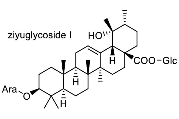 ワレモコウ 化学構造式1