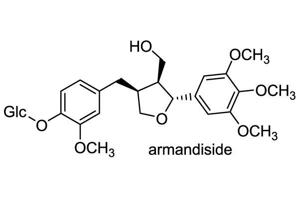 クレマチス・アルマンディー 化学構造式1