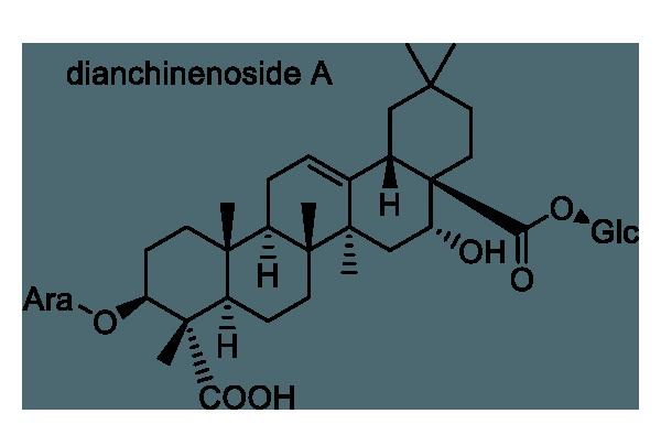 セキチク 化学構造式1