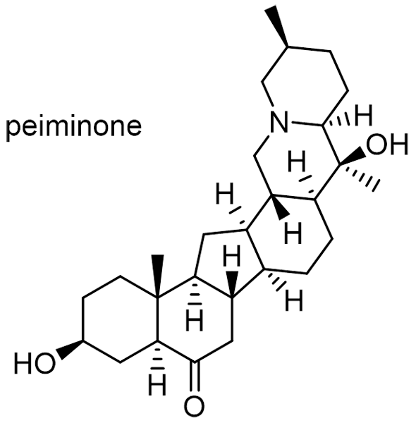 アミガサユリ 化学構造式2