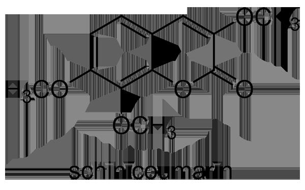イヌザンショウ 化学構造式2