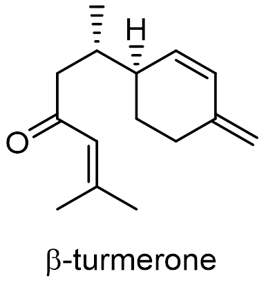 ウコン 化学構造式2