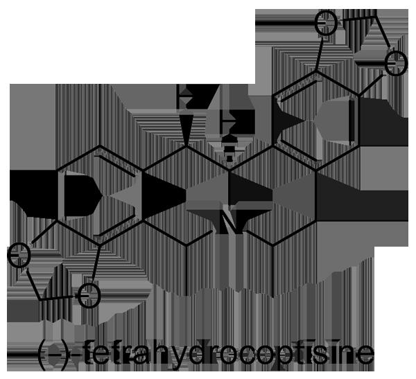 エンゴサク 化学構造式2