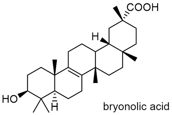 オオカラスウリ 化学構造式3