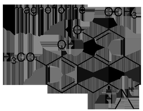 オオツヅラフジ 化学構造式3