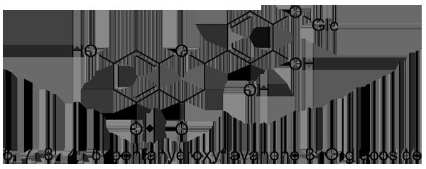 オオバコ 化学構造式3