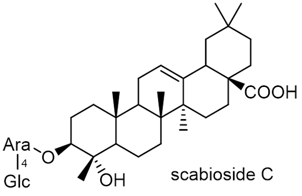 オミナエシ 化学構造式2