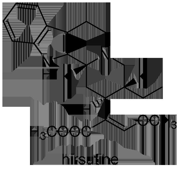カギカズラ 化学構造式2