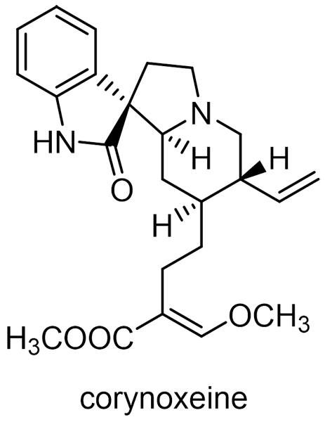 カギカズラ 化学構造式3