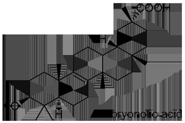 キカラスウリ 化学構造式3
