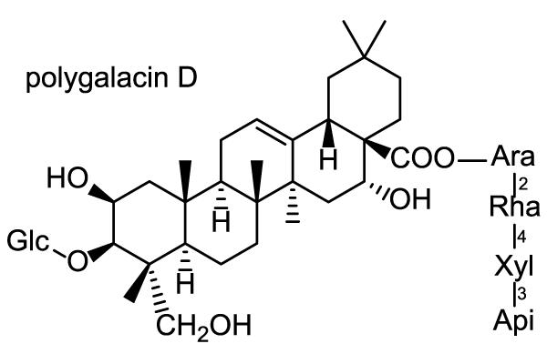 キキョウ 化学構造式2