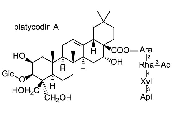 キキョウ 化学構造式3