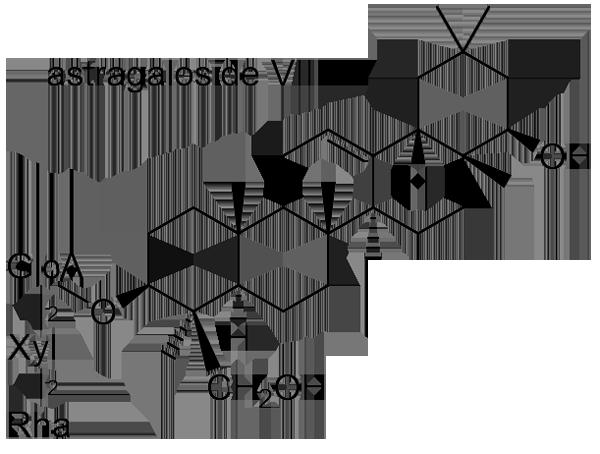 キバナオウギ 化学構造式2