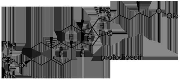 クサスギカズラ 化学構造式2