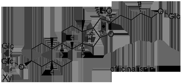 クサスギカズラ 化学構造式3