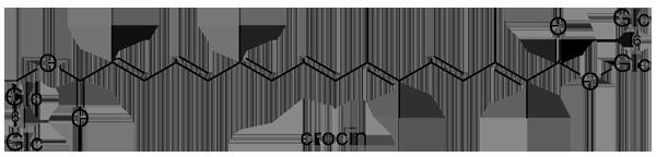 クチナシ 化学構造式3