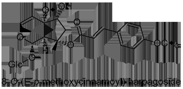 ゴマノハグサ 化学構造式2