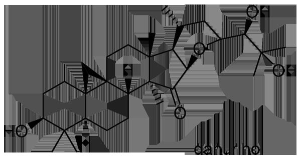 サラシナショウマ 化学構造式2