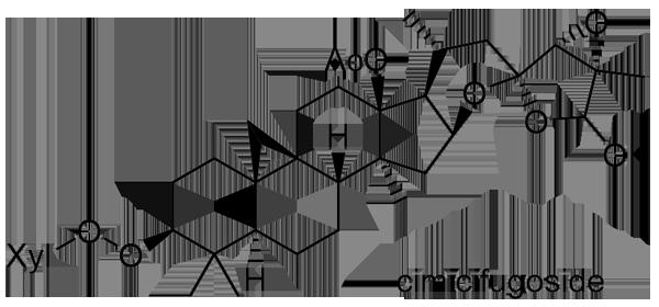 サラシナショウマ 化学構造式3