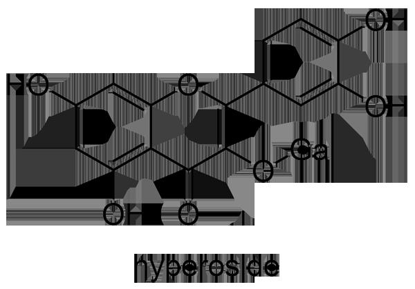 サンザシ 化学構造式2