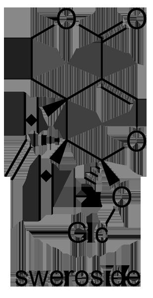 サンシュユ 化学構造式2