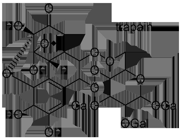 サンシュユ 化学構造式3