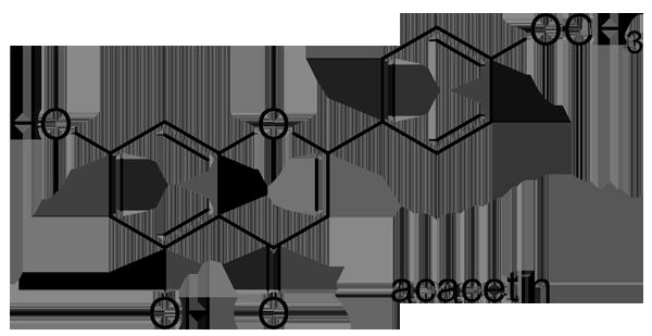 シマカンギク 化学構造式2
