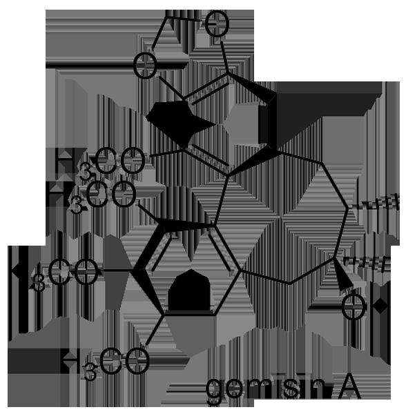 チョウセンゴミシ 化学構造式2