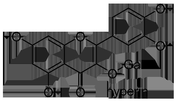 ドクダミ 化学構造式3