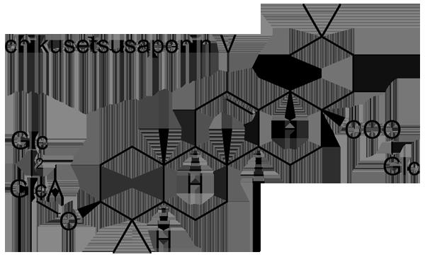 トチバニンジン 化学構造式3